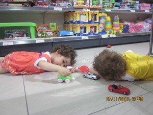 marketten bir sahne